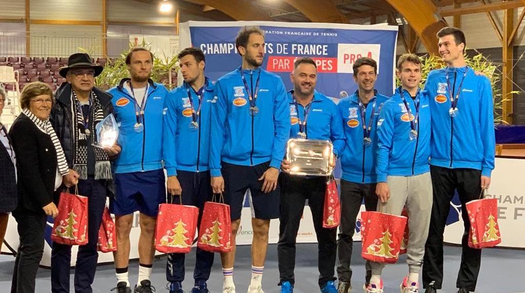 Championnat de France pro A, Tennis par equipe